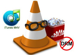 VLC media player plays iTunes movie and TV shows