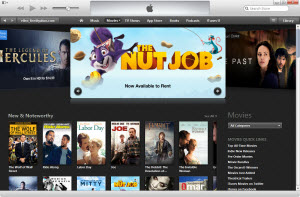 iTunes purchases and rentals