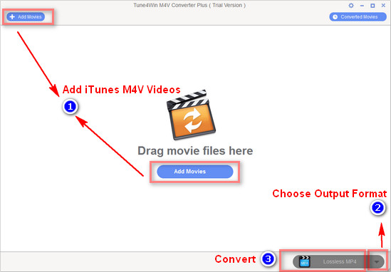 Tutorial for iTunes M4V Video Converter Plus Windows