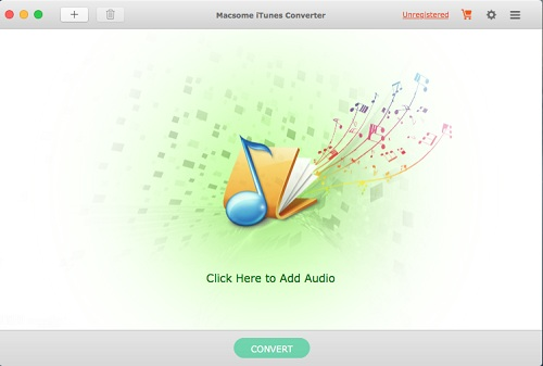 Screenshot of iTunes Converter for Mac