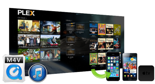 Tune4mac M4V Converter helps you to stream iTunes rental or purchased vidoes via Plex