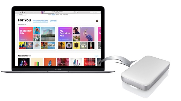 move Apple Music to external hard drive