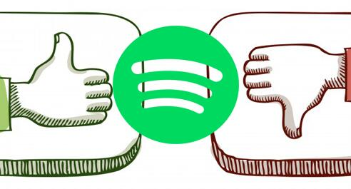 Spotify pros and cons